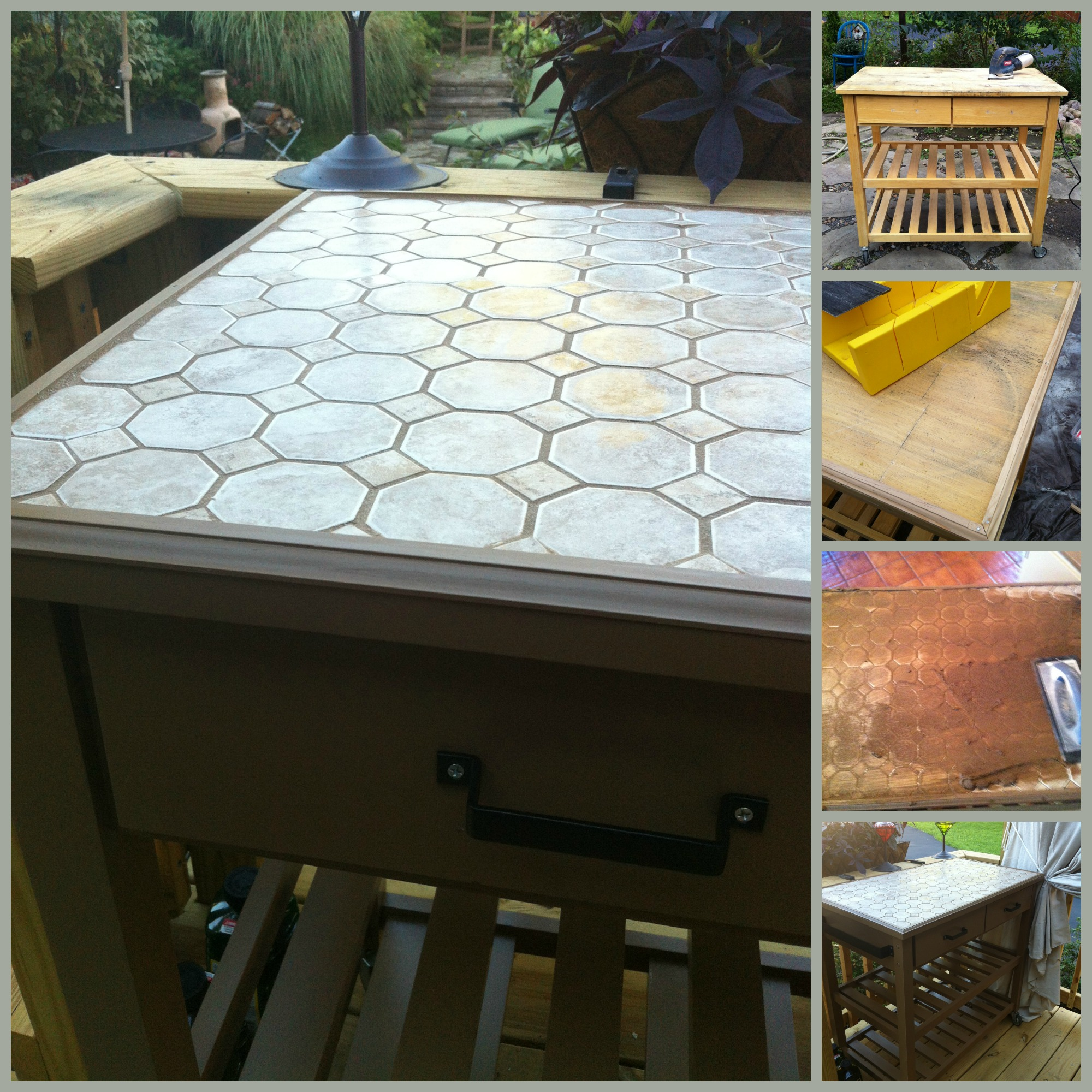 Diy pallet table 13 easy outdoor diy projects upcycles for Diy outdoor bar top