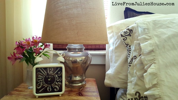 Thrift Store Decor Upcycle Challenge: Faux Mercury Glass Lamps