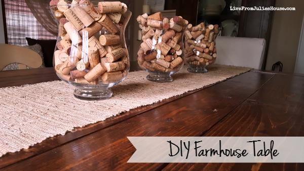 """DIY Farmhouse Table (aka """"Franken-Table"""")"""