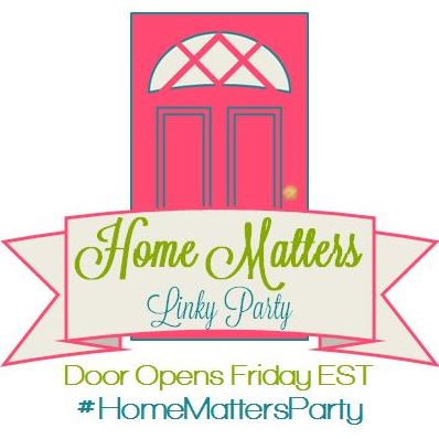 Home Matters Linky Party #94