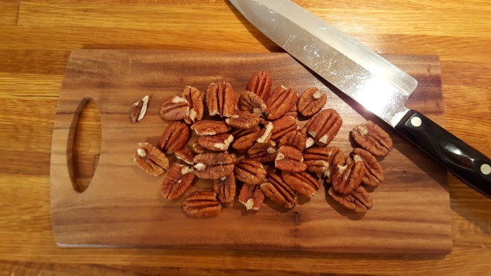 chopped pecans
