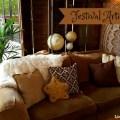 Funky Boho lounge