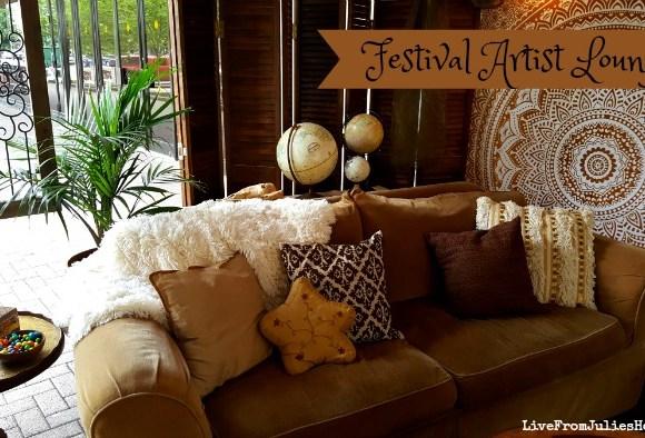 Fun & Funky Boho Lounge