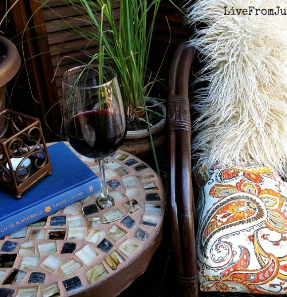 Thrift Store Challenge: Mosaic Table
