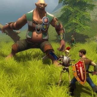 Majesty 2 герои нападают на огра