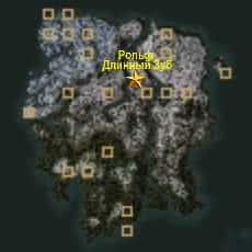 Ристааг месторасположение охотников