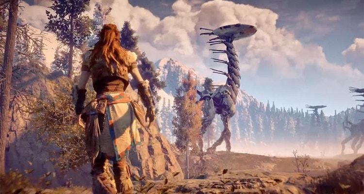 Horizon Zero Dawn дата релиза и новый трейлер постапокалиптической ролевой игры