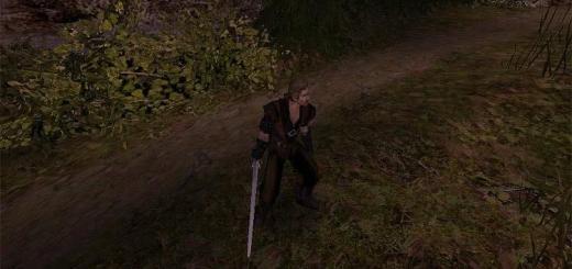 Готика 2 Безымянный с одноручным мечем