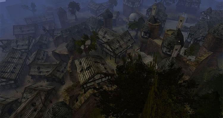 Готика 2 – скриншоты областей Хориниса
