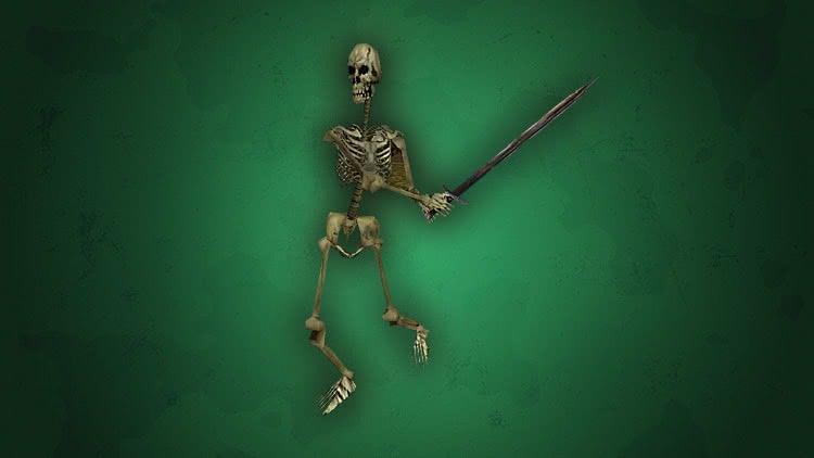 Скелет – Готика 1