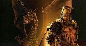 Безымянный на фоне дракона