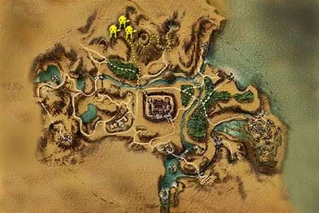 Готика 1 Гоблин воин – карта местоположения, где найти Гоблинов воинов