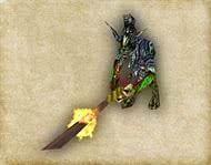 Готика 1 монстры - Варраг-Хашор, высшая форма нежити, мини босс Храма Спящего