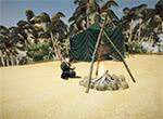 Ассасин у костра - игра Готика 3