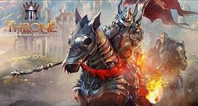 Throne: Kingdom at War - рыцарь с пылающим мечом