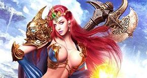 Dragon Knight 2 - девушка с топором ТОП-10 Браузерных MMORPG