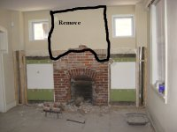 Stalling for time with the brick fireplace | Attempting to ...