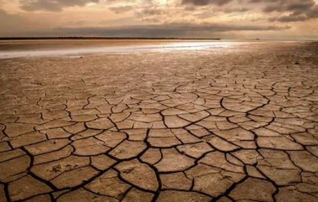 the dry land without water