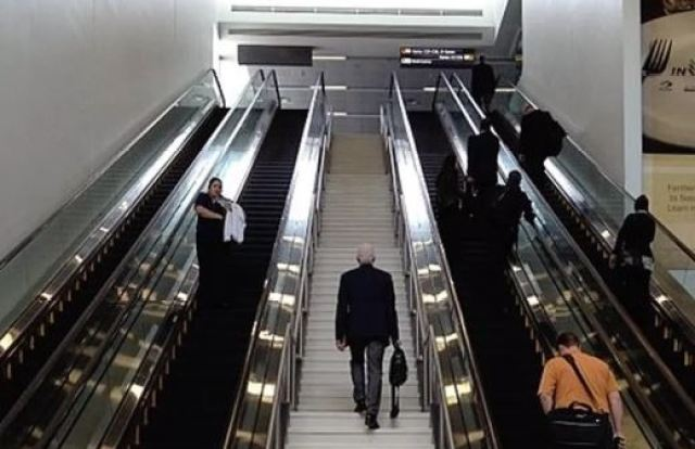 use stairs instead elevators tio burn fat