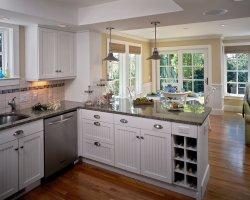 75 Kitchen Peninsula ideas. Real photos in the interior ...
