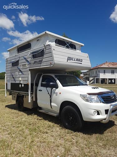 2013 Millard Slide Camper Toyota Diesel 4x4