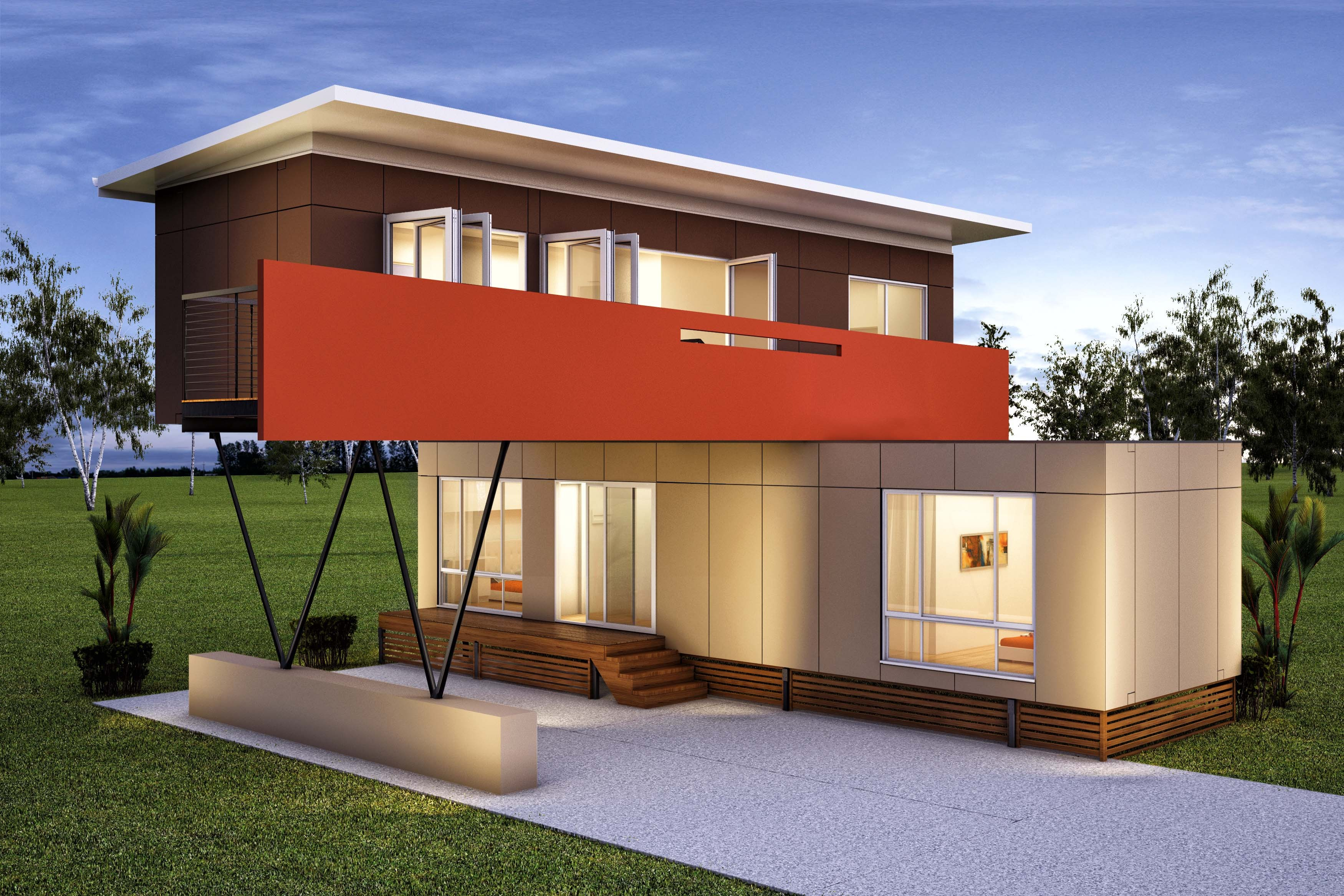 5 luxury container home designs  Container Living