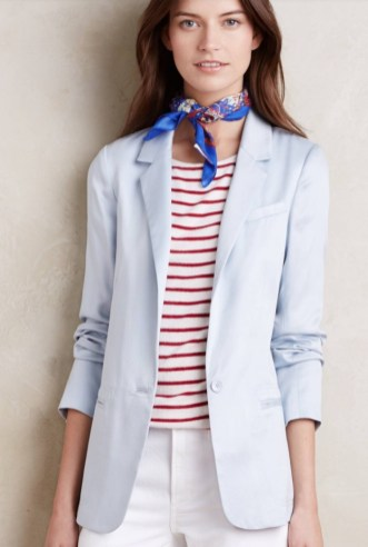 Anthropologie // Boatman Blazer