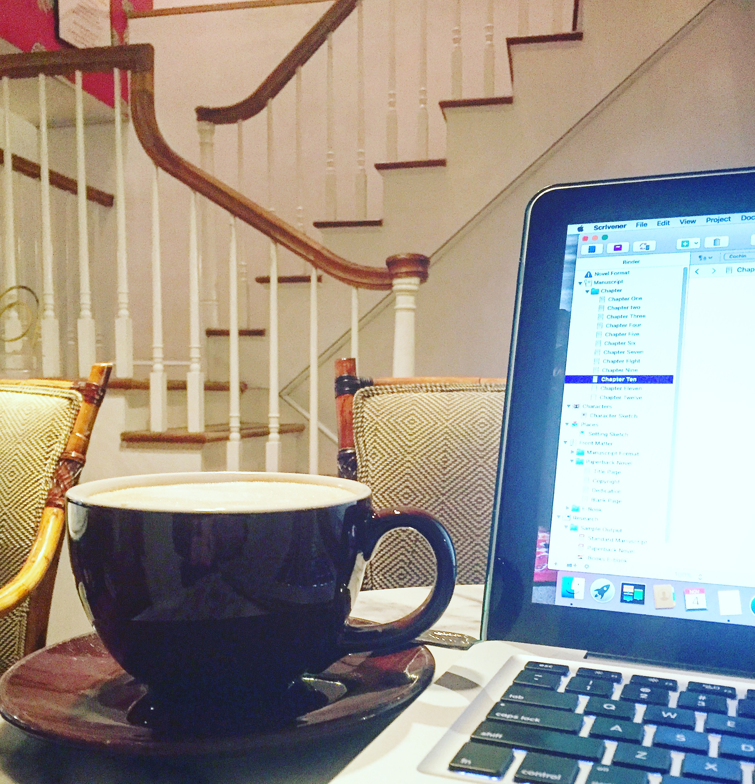 Café Jax: My Writing Home