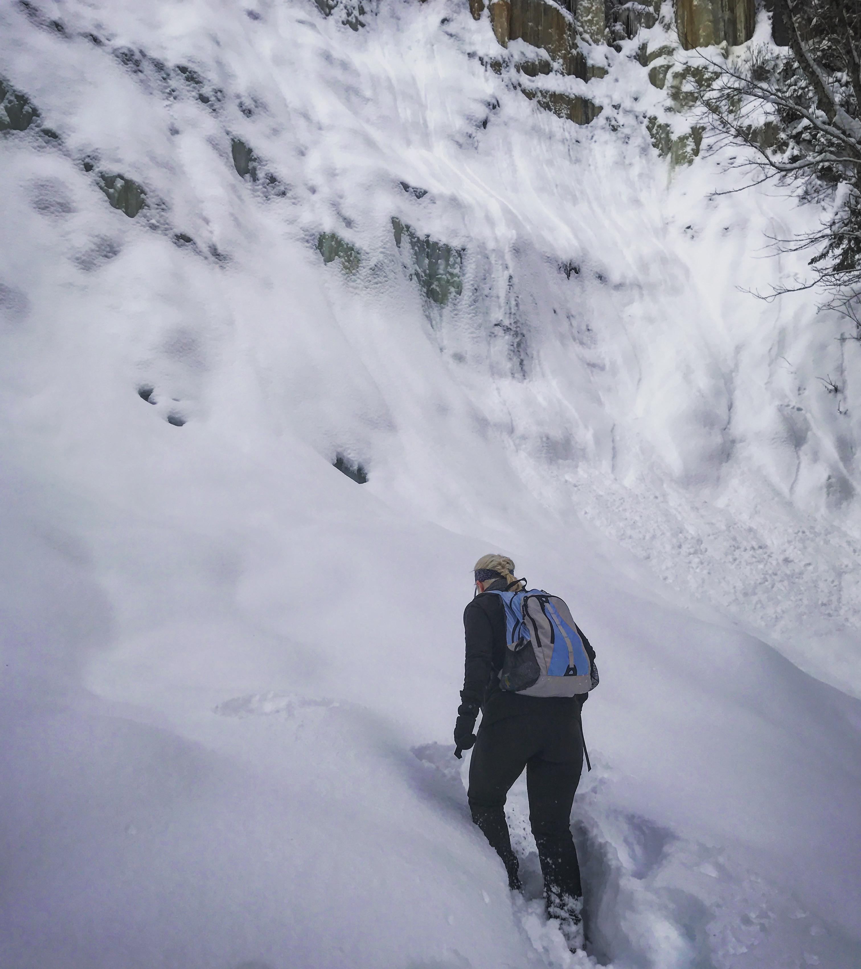 Go Chasin' That (Frozen) Waterfall