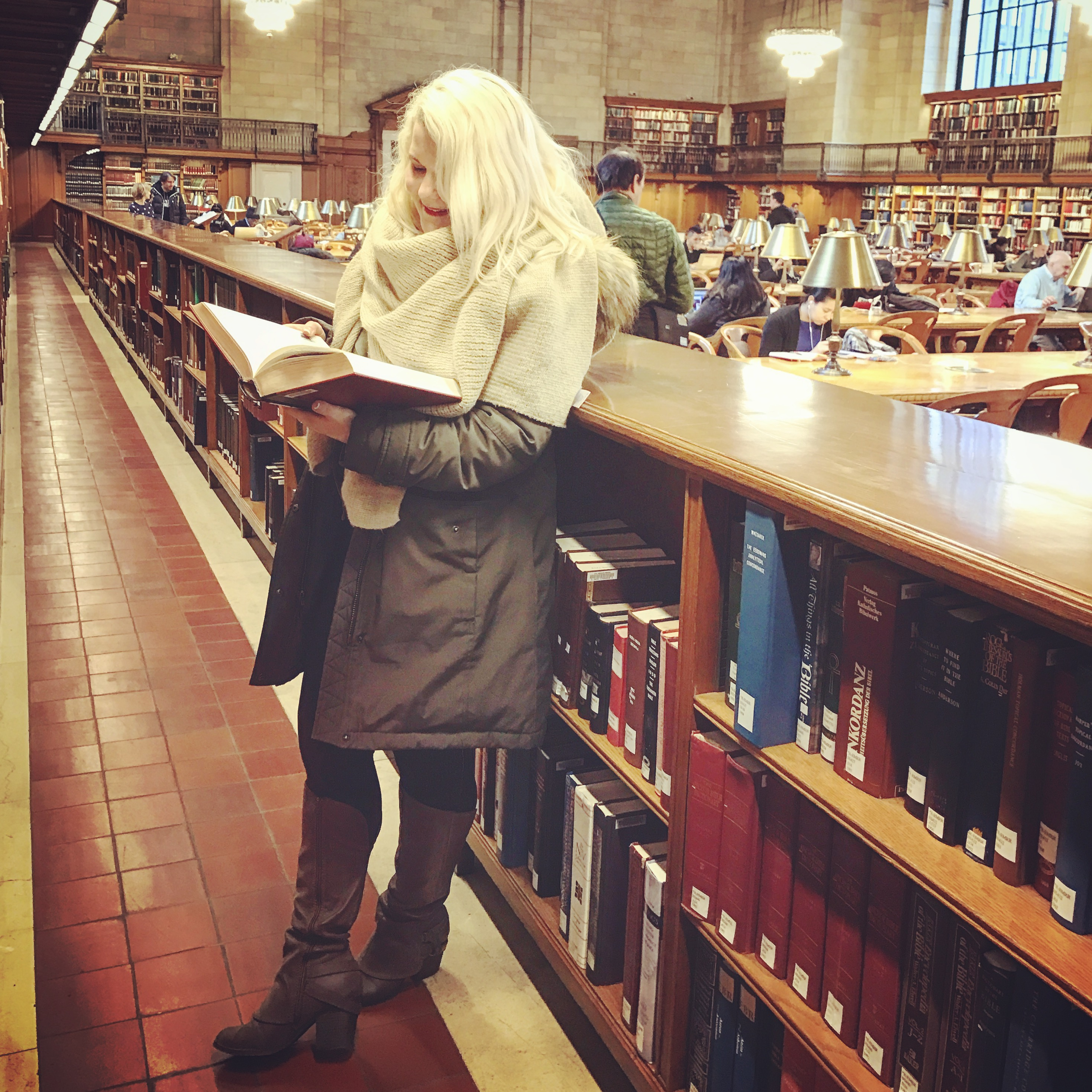 Wanderlusting in the New York Public Library