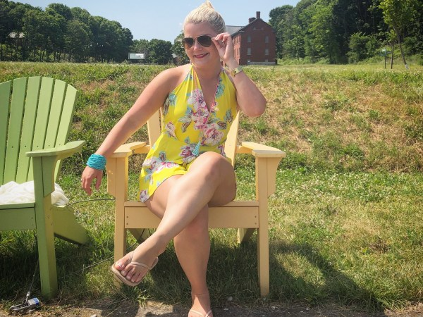 What DO I Wear: The Yellow Romper