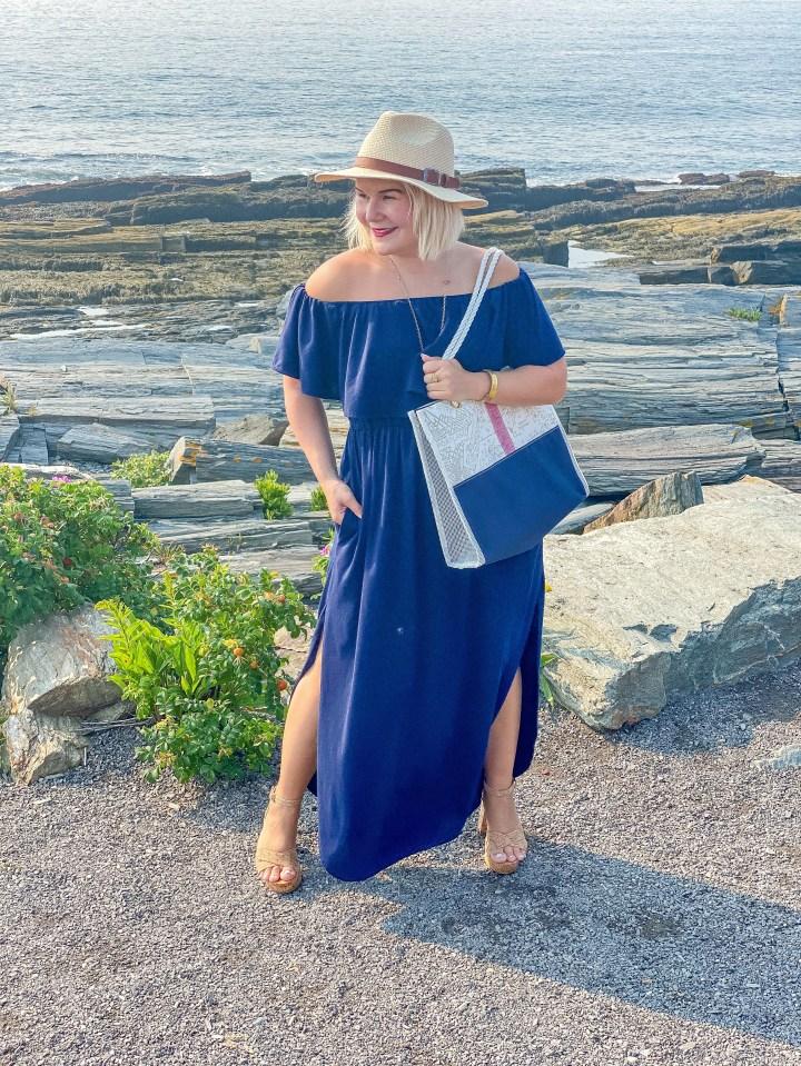 What Do I Wear: The Perfect Alaina-Marie Nautical Laptop Bag