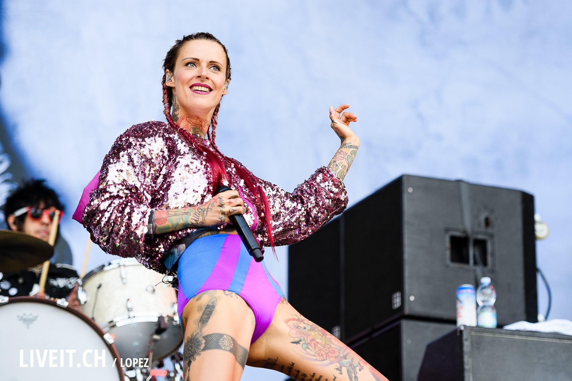 liveitch  Jennifer Rostock am Greenfield Festival 2016