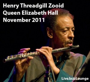 Henry Threadgill Zooid – Queen Elizabeth Hall, London, November 2011