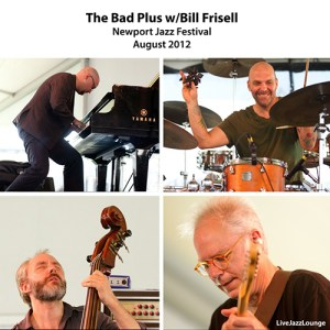 The Bad Plus with Bill Frisell: Tribute to Paul Motian – Newport Jazz Festival 2012