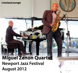 "Miguel Zenon Quartet ""Rayuela"" – Newport Jazz Festival, August 2012"