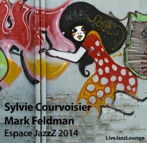 Sylvie Courvoisier & Mark Feldman – Espace JazzZ, May 2014