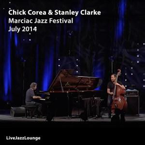 Chick Corea & Stanley Clarke – Marciac Jazz Festival, July 2014
