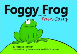 Foggy Frog and the Pain Gang picture book front cover