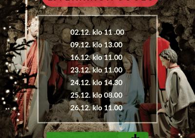 26.12.2018 Tapaninpäivän jumalanpalvelus Hyvän Paimenen kirkossa
