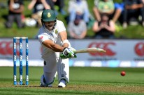 South Africa's captain Faf du Plessis bats during day one of the 1st International cricket test match between New Zealand and South Africa at the University Oval in Dunedin on March 8, 2017. / AFP PHOTO / Marty MELVILLE / ìThe erroneous mention[s] appearing in the metadata of this photo by Marty MELVILLE has been modified in AFP systems in the following manner: [March 8] instead of [March 7]. Please immediately remove the erroneous mention[s] from all your online services and delete it (them) from your servers. If you have been authorized by AFP to distribute it (them) to third parties, please ensure that the same actions are carried out by them. Failure to promptly comply with these instructions will entail liability on your part for any continued or post notification usage. Therefore we thank you very much for all your attention and prompt action. We are sorry for the inconvenience this notification may cause and remain at your disposal for any further information you may require.î