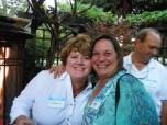 Karen and veteran CCC'er Mary Edwards