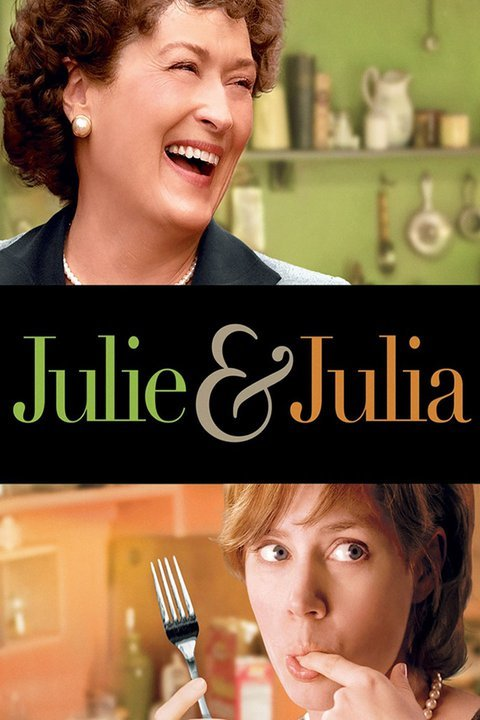 julie and julia sign with the lead cast of film