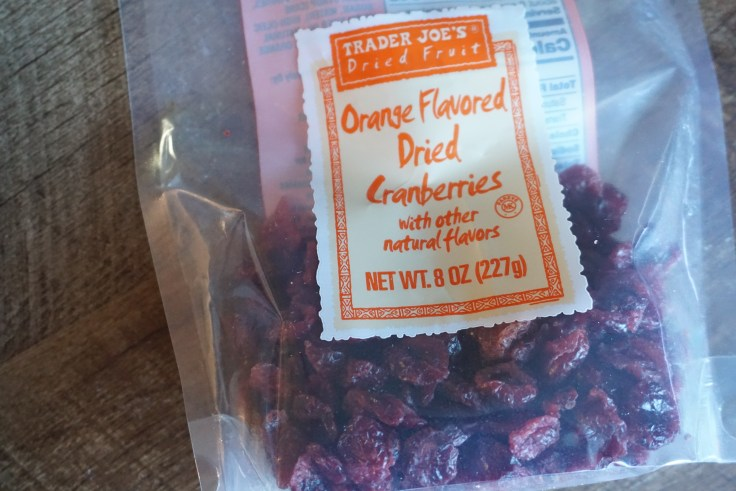 Trader Joe's Orange Flavored Dried Cranberries