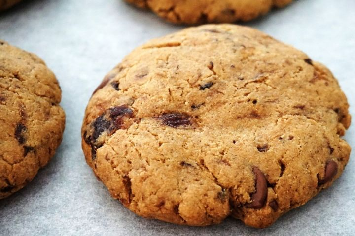 cookie on a sheet