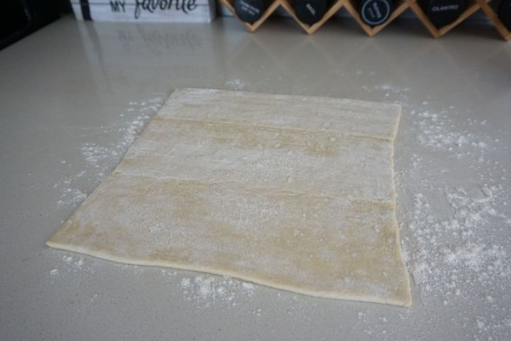 thawed pastry sheet