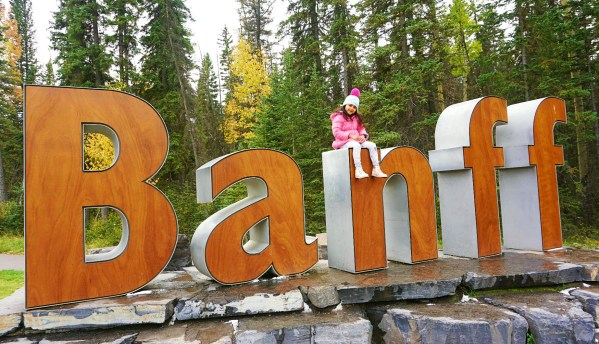 banff sign board