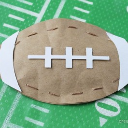 Super Bowl Party Favors by Create Craft Love for LiveLaughRowe.com