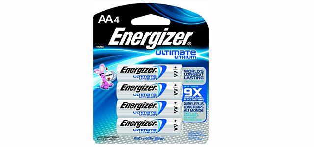 AA Energizer Lithium