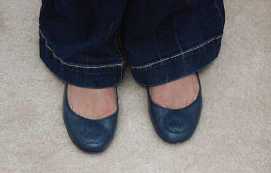 mk navy shoes